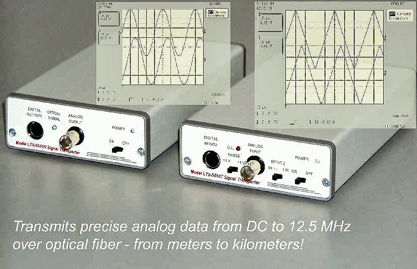 Ltx 5510 Signal Transporter Eo Oe Converter Pair Acquitek