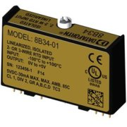 8B34 - Linearised 2- or 3-Wire RTD Input 8B Module, 3Hz Bandwidth