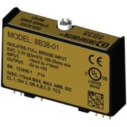 8B38 - Strain Gauge Signal Conditioning Module, 3Hz or 8kHz Bandwidth