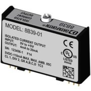 8B39 - Current Output Module, 100Hz Bandwidth