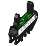 8BP01 - Single Channel DIN Rail Mount Carrier