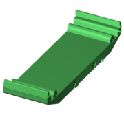 SCMXBE - DIN rail base element without snap foot