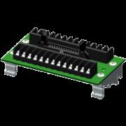 SCMXIF-DIN - Rail DIN universal interface board